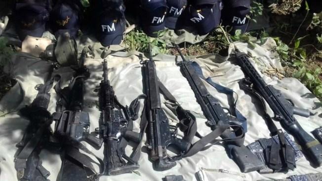 Militares detectan un arsenal en Guerrero