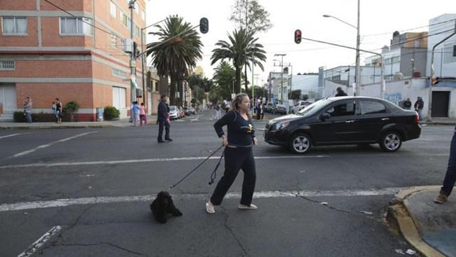 Roma y Condesa, dos barrios de moda sumidos en el silencio