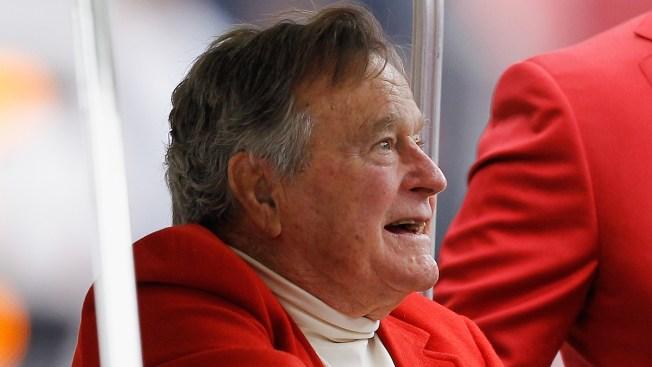 """Bush padre, """"estable y sin necesidad de cirugía"""""""