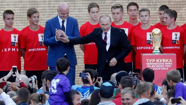 La Copa Mundial de la FIFA inicia su esperada gira