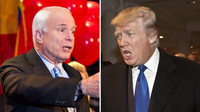 Donald Trump: McCain no es héroe de guerra