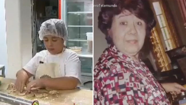 Niño hace famosas las galletas de su abuela