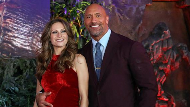 "El actor Dwayne ""The Rock"" Johnson se casa por segunda vez"