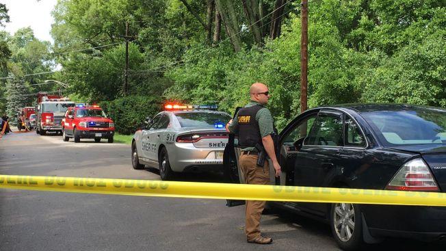 Se reporta explosión en una vivienda en Libertyville