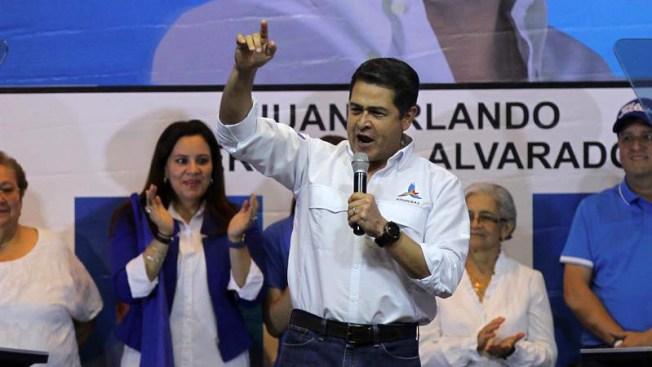 EFEEl presidente hondureño Juan Orlando Hernández