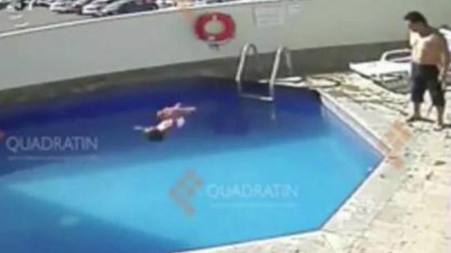 Video: Hombre habría ahogado a niña en piscina