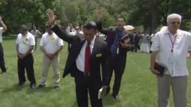Pastores rezan por el fin de deportaciones