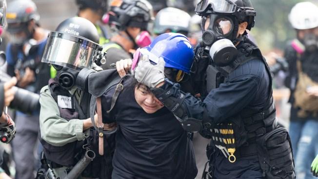 Según Trump, su rol frena la represión contra las protestas en Hong Kong