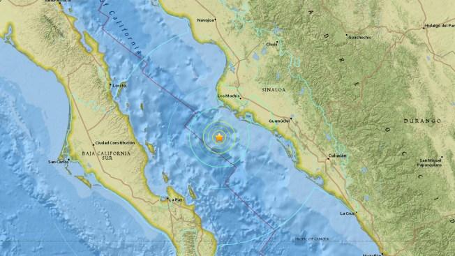 Sismo de 6.6 sacude Golfo de California