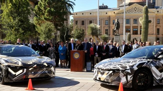 Compañía autos eléctricos anuncia inversión de 700 millones dólares en Arizona