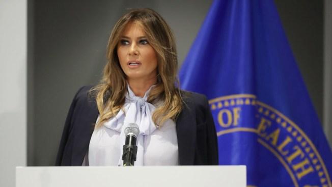 Melania Trump pide ayuda para combatir el acoso cibernético