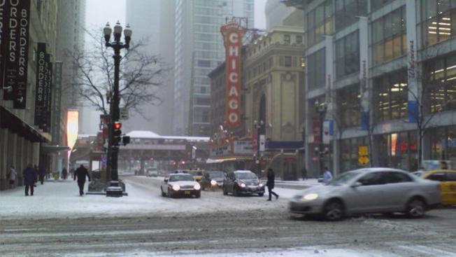 Más nieve para Chicago