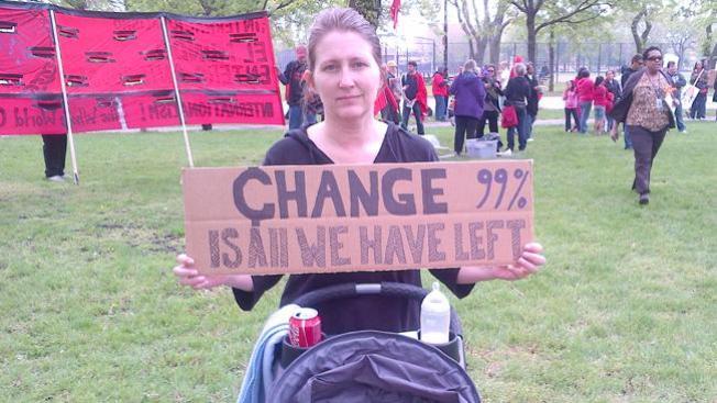 Fueron pacificas las marchas en Chicago