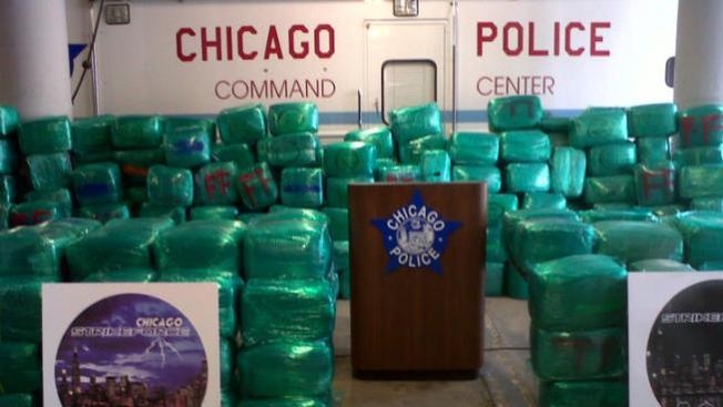 Decomisan 8 toneladas de marihuana en Chicago
