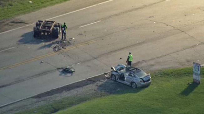 Accidente cierra vía de acceso a O'Hare