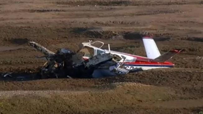 Dos mueren en accidente aéreo