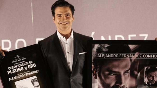"""Alejandro Fernández y sus """"Confidencias"""""""