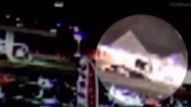 Auto se estrella contra tienda y rebota
