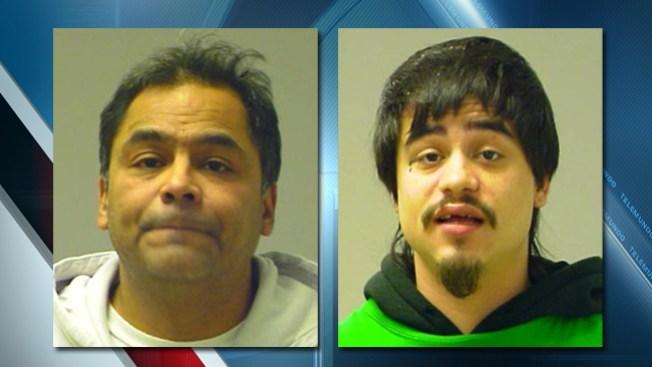 Acusan a bombero e hijo de atacar y robar a un hombre