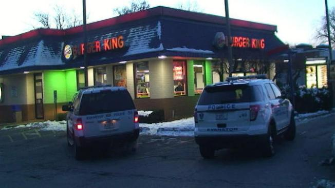 Robo en un Burger King