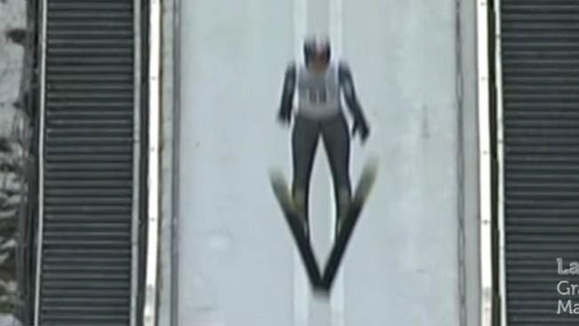 Aparatosa caída de campeón olímpico