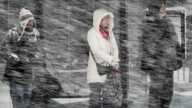 Jueves: lluvia congelada, aguanieve y nieve