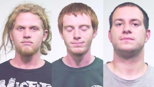 Presuntos terroristas en corte