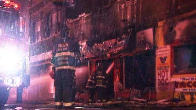 Voraz incendio en Garfield Park