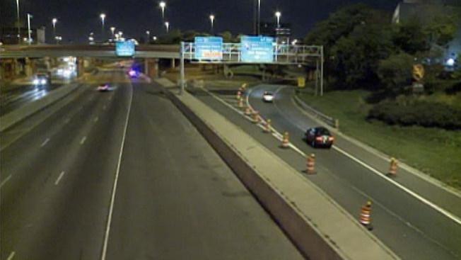 Alivio en cruce de autopistas