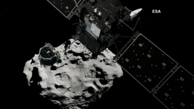 Preparan aterrizaje de robot en cometa