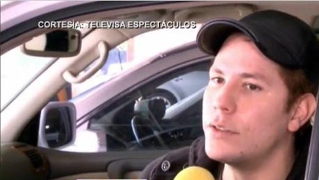Christian Chávez, 10 días internado