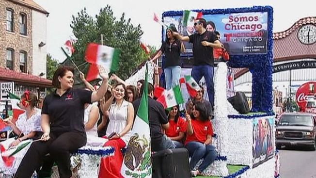 Fiestas patrias mexicanas en La Villita