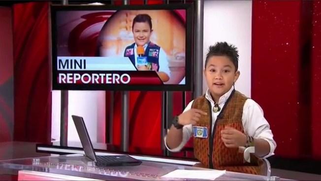 Diego Gómez, el reportero más joven