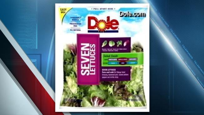 Salmonela en ensalada en bolsa