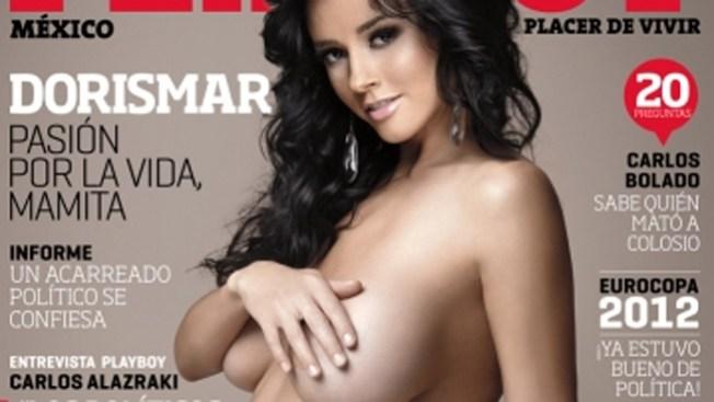 Desnuda para playboy dorismar