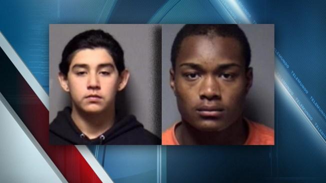 Adolescentes acusados de asesinato
