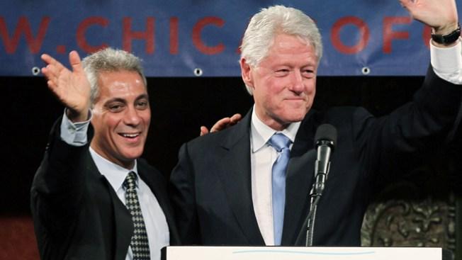 Emanuel y Clinton con ambicioso plan