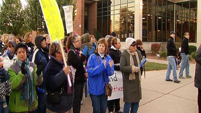 7mo día de huelga de maestros