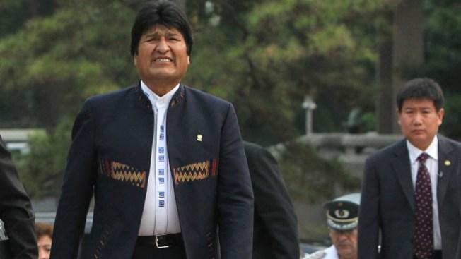 Evo Morales dice que fue agredido