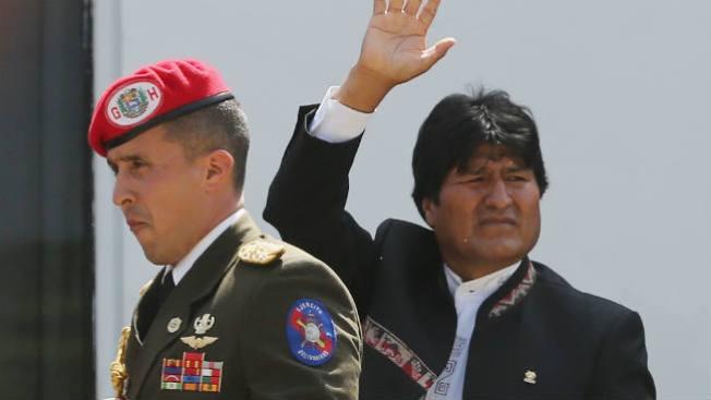 """Denuncian """"secuestro"""" de Evo Morales"""