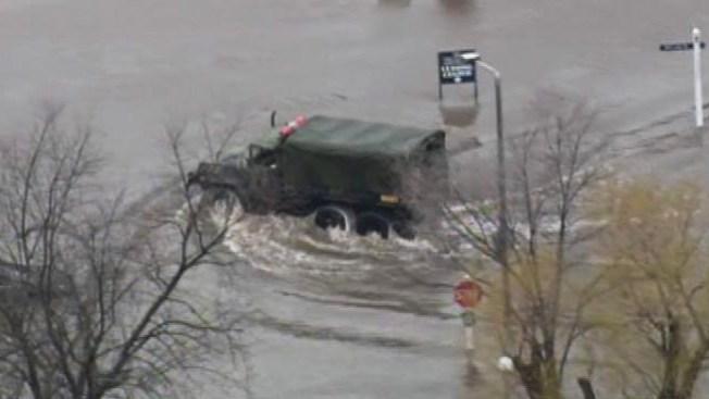 Evacuaciones en Four Lakes