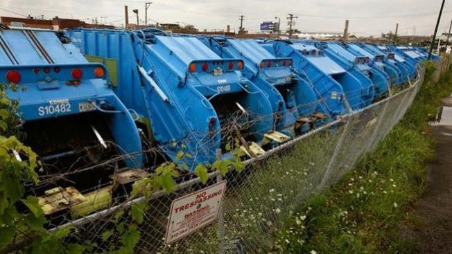 Nuevas rutas de recolección de basura