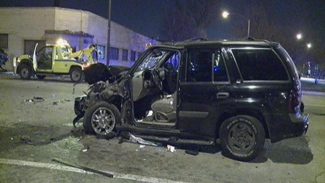 Cinco heridos en accidente