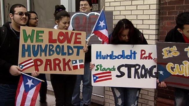 Humboldt Park indignado y pastelera responde