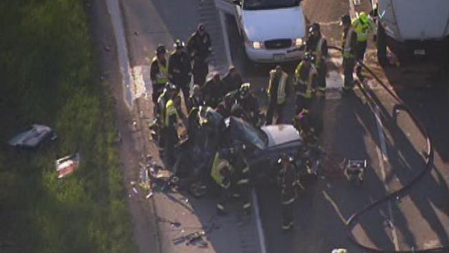 Un muerto y dos heridos en la autopista