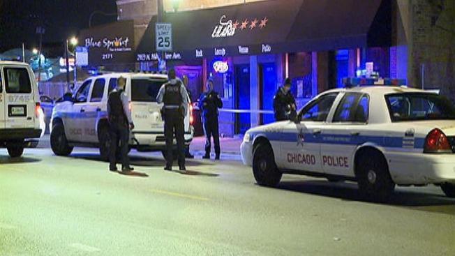 4 baleados en club nocturno