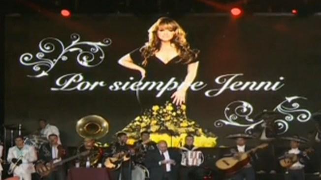 Recuerdan a Jenni en lugar de muerte