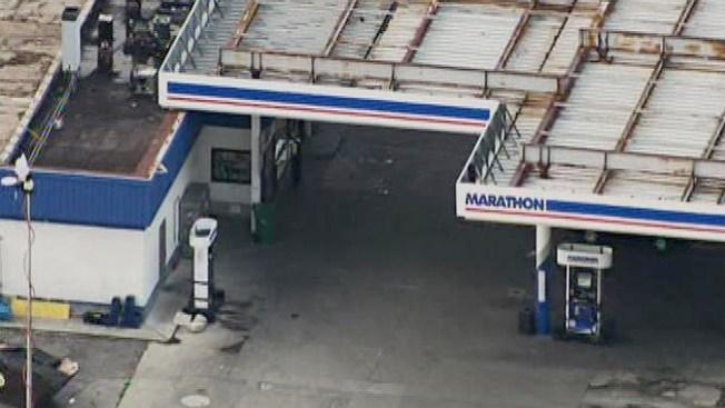 Robo mortal en gasolinera
