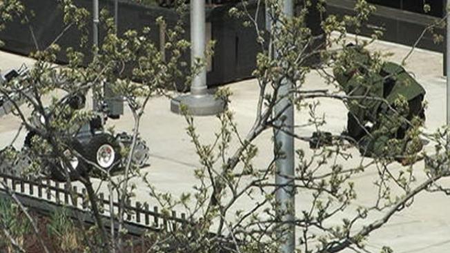 Objeto sospechoso en la Michigan Ave.