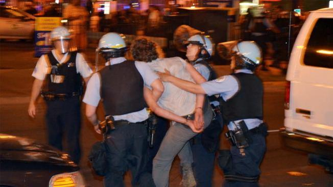90 arrestados durante cumbre